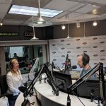Jeannie Gallucci at radio station
